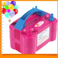 Doppio Hole High Voltage AC elettrico gonfiabile Balloon pompa Air Balloon pompa elettrica palloncino gonfiatore della pompa del Portable Air Blower