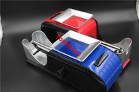Wholesale new electric cigarette rolling machines for sale - Group buy 30pcs USA UK New High Quality Portable Mini ABS Electric Automatic Cigarette Rolling Machine Tobacco Roller Injector gift