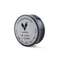 Wholesale vaporizer wire resale online - Vapor TECH Pure Nickel Ni200 Wire Feet Gauge Temperature Control Wire DIY RDA RBA Vaporizer Coils