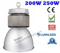 Wholesale High Bay Led Lighting Prices - To Gus 250W LED high bay light meanwell driver 5 years warranty high quality best price fedex free shipping 250 watt LED highbay