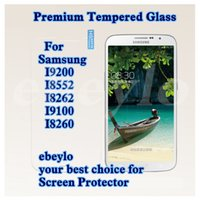 Wholesale galaxy i8262 - Samsung I9200 I8552 I8262 I9100 I8260 Tempered Glass Screen Protector w. Retail Package. 0.2MM 9H 2.5D