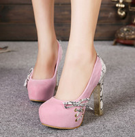 Wholesale Gold Glitter Baby Shoes - Bright Glittering Glorious Baby Pink Gold Sequin High Heels Mary Jane Strappy Shoes