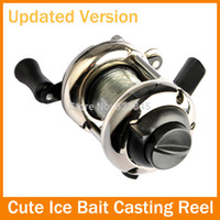 Wholesale Shiping Reels - Free Shiping Bait Casting 3.6:1 Ratio 3BB Powerful Gear Lure Reel baitcasting Left Right Reel Bag Low Profile Fishing Tackle