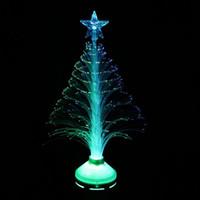 Wholesale 3w E27 Led Fiber Optical - 3W E27 AC85-260V LED Fiber Optical Flower Light Stage Light Christmas Tree Lamp For KTVs Home Decor lamp Festivals