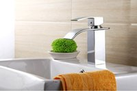 Wholesale Nice Faucet - wcy Nice waterfall chrome brass bathroom basin sink mixer tap faucet single hole FH12