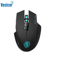 Wholesale Gaming Mouse Sale - Wholesale-Vosicar Hot Sale 2000DPI C10 High End 2.4GHz 8 Keys Multimedia Wireless Gaming   Office Mouse Freeshipping & Wholesale