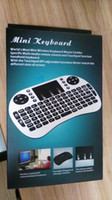 3 in 1 Laptop USB Mini Wireless Handheld game Keyboard Rii I8 Fly air mouse keyboards multi-touch Touchpad Remote Control PC for android TV BOX M8S MXQ