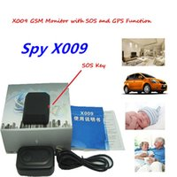 Wholesale Tracker Gps Gsm Bug - 2016 Hot Sales Spy Mini DVR with SOS Mini GSM dvr camera GSM Bug GPS tracker Gsm Hidden camera Spy camera Video Recorder Voice X009