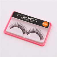 Wholesale Fake Factory - Brand Fashion Eyelash Case False Eyelashes Handmade Natural Long Thick Beautiful Makeup Eyelash Fake Eye Lash extensions M058 Factory Price