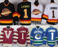 black claret - Cheap Vancouver Canucks Hockey Jerseys Roberto Luongo Jersey Claret Red th Anniversary Black White Blue Stitched Jerseys