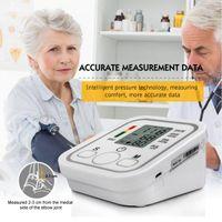 Wholesale Pressure Arm - Digital LCD Arm Blood Pressure Pulse Monitor Health Care Upper Digital Sphygmomanometer