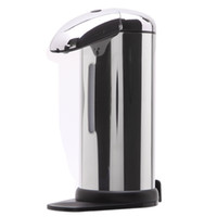 Wholesale Hands Free Liquid Soap Dispenser - New Arrival! 500ML Sensor Soap Liquid Dispenser Stainless Steel Automatic Hands Free Wash Machine Portable Motion Activated With Stand