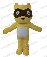 Wholesale Raccoon Mascot - Raccoon mascot costume Animal suit Adult Fancy Costume Party dress