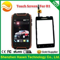 Wholesale Hummer Waterproof Phone - Wholesale-Original NEW Touch Screen Touch Panel for HUMMER H1 H1+ Waterproof Rugged Mobile Phone Hummer H1 Touch Panel Screen H1 TP