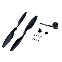 Wholesale Dji X525 - EMAX MT2216 810KV CCW Thread Brushless Motor W  + 1 Pair 1045 CW CCW Propellers for DJI F450 500 F550 X525 FPV RC Quadcopter order<$18no tra