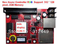 Wholesale Memory 512 - Wholesale-Async & Sync two mode controller, 4GB memory,512 * 128 control,support full color display 1 16,1 8,1 4 duty,rgb async card