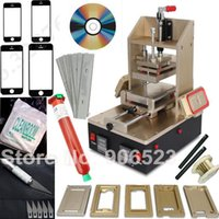 Wholesale Iphone Vacuum Machine - New 5 in 1 machine for Samsung Middle Bezel Splite for iPhone Frame Laminating Vacuum LCD Separator with loca UV glue free gift