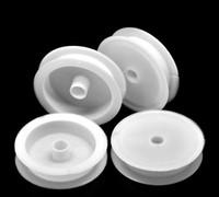 "Wholesale Thread Spool Wholesale - Wholesale-20PCs Empty Plastic Spools for Beading Wire Thread String 7cm(2 6 8"") Dia."