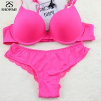 Wholesale Sexy Lingerie Bra Sets - Victoria Women Bra Set VS Sexy Smooth Bras And Panty Lingerie Set Sexy Junior Tops Front Buckle B Cup Underwear Bra Set 3 orders