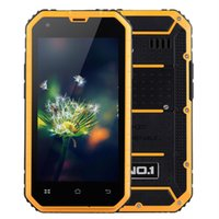 """Wholesale Smartphone Android Quad Core Rugged - Original NO.1 M2 Rugged Waterproof IP68 Smartphone MTK6582 Quad Core 4.5"""" Android 5.0 1GB RAM 8GB ROM 13MP Dual SIM 3G Smart Cell Phone"""