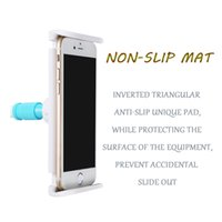 Wholesale Use Flat Phone - 2017 hot sales,Mixed colors phone ipad holder Dual-use flat-panel mobile phone holder, single, double your choice