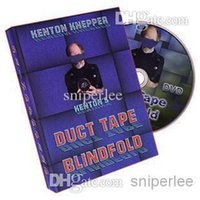 Wholesale Duct Cloth - Kenton Knepper - Duct Tape Blindfold ,magic trick send by email by magic castle