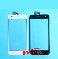 Wholesale handwritten screen - Wholesale-Free Shipping Black and White New 5 inch For YUSUN T55 Mobile phone touch screen Panel Handwritten Screens Repair Replacement