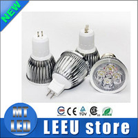 Wholesale e27 5w cool white bulb - 2017 High power CREE Led Lamp Dimmable GU10 MR16 E27 E14 GU5 B22 Led Light Spotlight led bulb downlight lamps