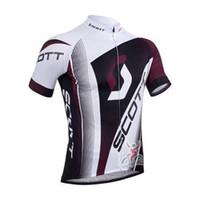 Wholesale Mens Cycling Bib Shorts Jersey - 2015 Summer hot sale scott cycling team jersey mens cycling tights and bicycle wear shorts bib