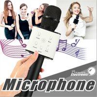 Wholesale Speaker Wireless Magic Portable - Q7 Handheld Microphone Bluetooth Wireless Magic KTV With Speaker Mic Handheld Loudspeaker Portable Karaoke Player For Smartphone