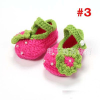 Wholesale Crochet Best - best-selling Toddler Shoes Baby Shoes First Walking Shoes Newborn Shoes 2015 Boys Girls Crochet Shoes Baby First Walker Shoes Infant Shoes