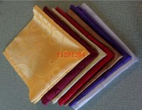 Wholesale 100pcs cm Hotel Napkins chalice cloth napkins wedding cloth napkin napkin satin
