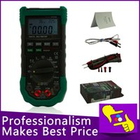 Wholesale-5 in 1 Mastech MS8229 Digital-Multimeter DMM Meter Multitester Licht Schallpegel Temperatur Feuchtigkeit Tester