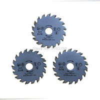 Wholesale Cutting Parts - 3PC 54.8x11.1mm TCT Rotorazer Saw Blade for Wood Cutting Free Shipping