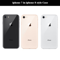 "Wholesale Iphone Quad - Original iphone 7 in iphone 8 style Case Unlocked Mobile Phone 1.2MP Two Camera 5.5"" 3G RAM 32GB ROM Cellphone Refurbished"