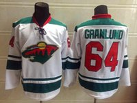 Wholesale dry ice delivery - 2016 New, Cheap Mikael Granlund Jersey,Minnesota Wild #64 Men's Red White Green Hockey Jersey,Wholesale,Embroidery, Fast Delivery