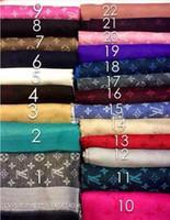 Wholesale Ladies Nylon Scarves - Pashmina Cashmere Silk Solid Shawl Wrap Unisex Long Range Scarf Women's Girls Ladies Scarf Wool Scarf Shawl Pashmina