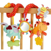 Wholesale Cheap Baby Rattles Toys - multifunctional baby bed hanging car hanging newborn babay rattles mobiles toy cheap baby rattles baby infant baby crib toys