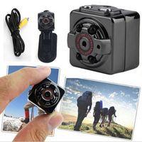 Wholesale car hid hd online - HD P Sport Car DVR Mini Camera SQ8 Portable Mini DV Voice Video Recorder Infrared Night Vision Digital Small Cam Hidden Camcorder