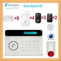 Wholesale Wireless Alarm Systems China - Free shipping DHL, Arming&disarming 10s delay wireless home alarm from shenzhen China cheap factory alarm system for home