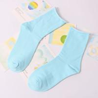 Wholesale Women Colored Socks - Wholesale-Of Candy-colored Socks Relent Modeling Socks Female wild tide