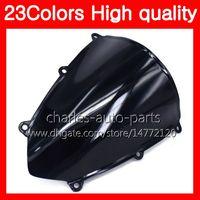 Wholesale clear windshield - 23Colors Motorcycle Windscreen For HONDA CBR 600RR F5 CBR600RR 07 08 CBR600 RR F5 CBR 600 RR 2007 2008 Chrome Black Clear Smoke Windshield