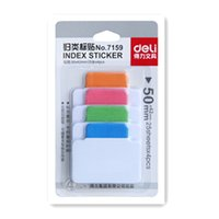 Wholesale Index Sticky Note - 3 PACKS 300 PAGES 4 COLORS COLORFUL STICKER POST IT BOOKMARK MARKER MEMO FLAGS INDEX TAB STICKY NOTES ADHESIVE REUSABLE FREE SHIPPING