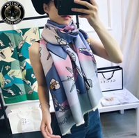 Wholesale New Winter Gloves For Women - 2018 New Good Quality Newest Design Soft Warm Winter Scarf Brand Shawl for Women Fashion Thicken Long Scarves Woman 180*70cm