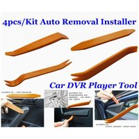 Wholesale Audio Removal Installer Pry Tool - Auto Removal Tool Car Disassembled 4pcs Kit Refit Audio Portable Pry Installer Car DVR Player Trim Panel Dashboard Free Shipping