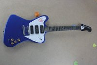 Wholesale G String Usa - G Flame Maple Top Ptarmigan 3 Pickups Made In USA perfect Blue Electric Guitar