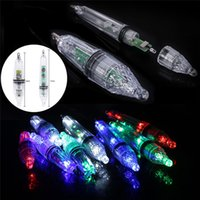 Wholesale lures 17cm for sale - Group buy 12cm cm Fishing led light Waterproof LED Fishing Lure Pesca Fishing Lamp Bait Capable Of Deep in Water m Colors Optional Q0221