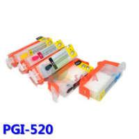 Wholesale Brother Empty Ink Cartridges - PGI-520 Refillable ink cartridge For Canon iP3600 ip4600 ip4700 MP560 MP620 MP620B MP640 MP640R MP980 MP990 MX860 FREE SHIPPING