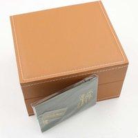 Wholesale Ap Royal - luxury brand watch Box AP Advanced original trademark box royal oaks AAA quality bin With certificate book watches box