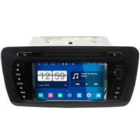 Winca S160 Android 4.4 System Car DVD GPS Headunit Sat Nav per Seat Ibiza 2008 - 2014 con radio Wifi Video Player 3G Host OBD